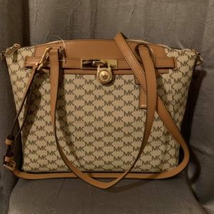 Michael Kors Hamilton Traveler Large Zip Satchel